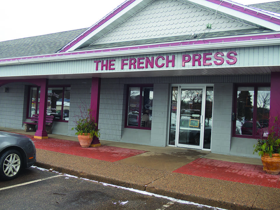 The French Press specializes in making all their food from scratch, besides a few menu items.