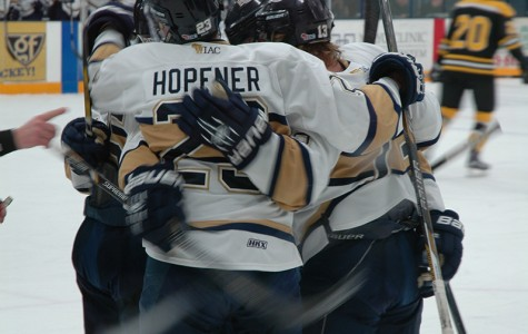 Men's hockey enters WIAC tournament with momentum