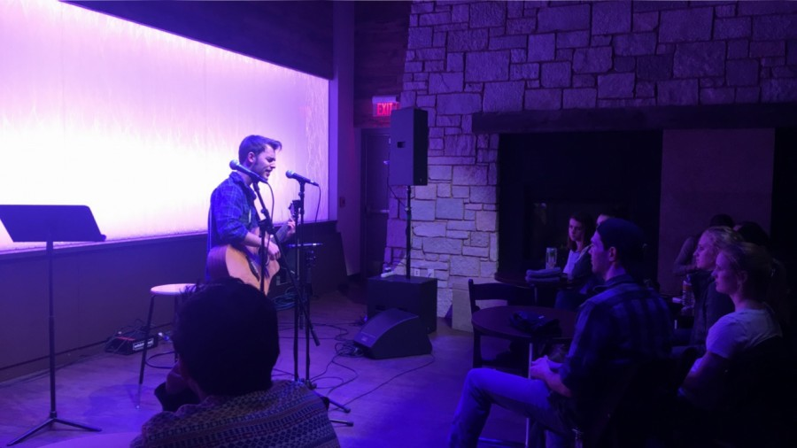 Saturday night at The Cabin brought some competition as students came to showcase their talents and impress the judges sitting in the audience.