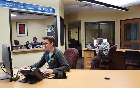The LTS team working on late night shifts! The Learning and Technology Services, located in Old Library, can answer questions and concerns about the Dell service scam attempting to gain access to credit card accounts.