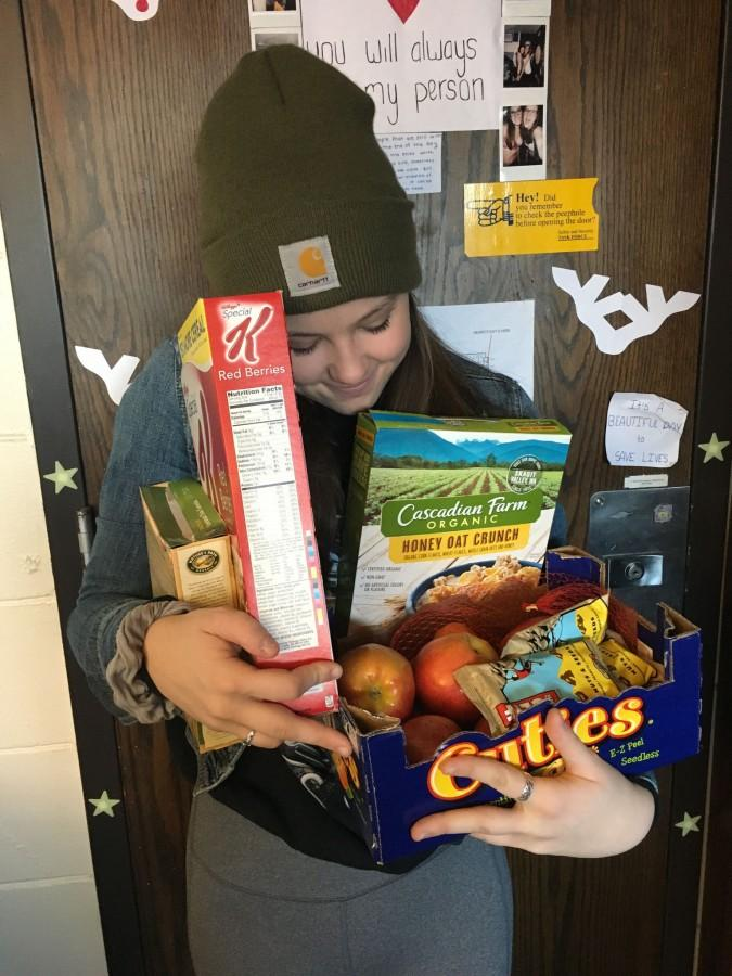 Hageman embraces veganism with all her various grainy snacks