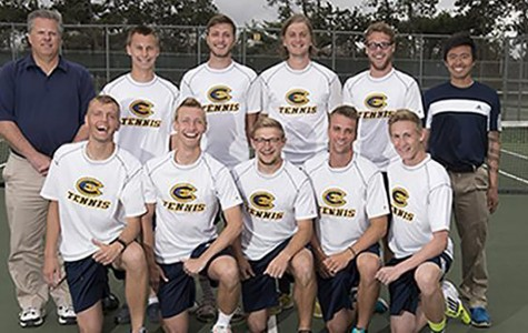 Men's tennis looks to build momentum going into the spring season