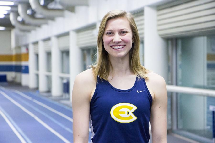 Glidden has secured herself as the number one pentathlete in the country after receiving a culminating score of 3578, while also outperforming the competition in other indoor track events as well.