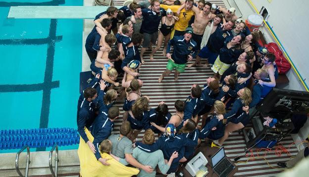 UW-Eau Claire swim and dive team breaks records at WIAC championships