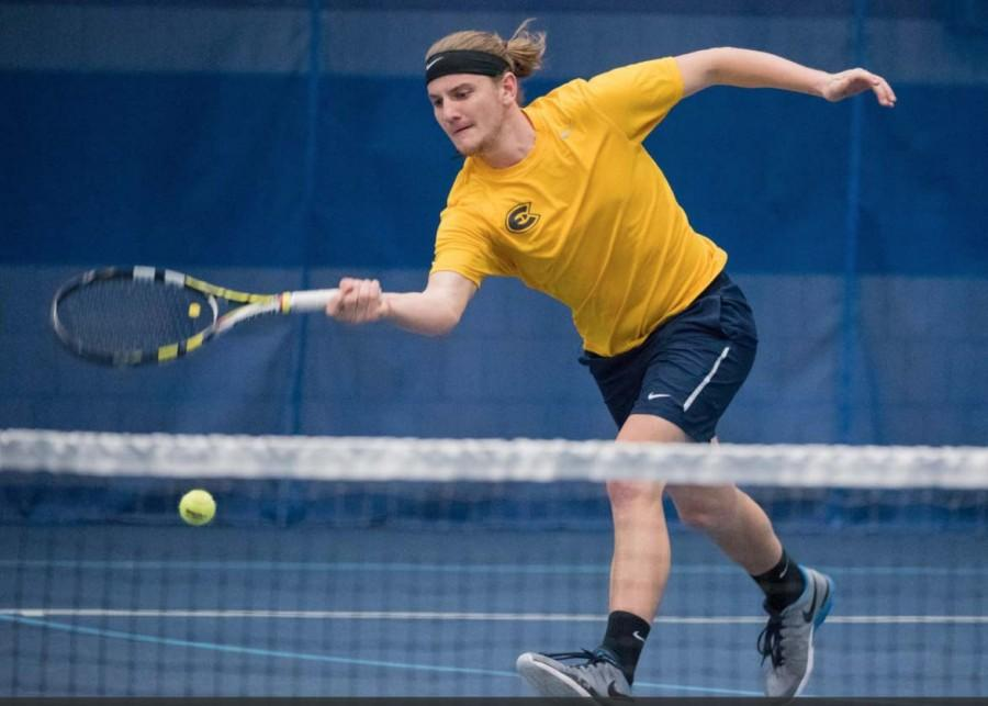 Senior Kyle Hoffman and the UW-Eau Claire men's and women's tennis teams are set to travel to Arizona for its annual spring break trip.