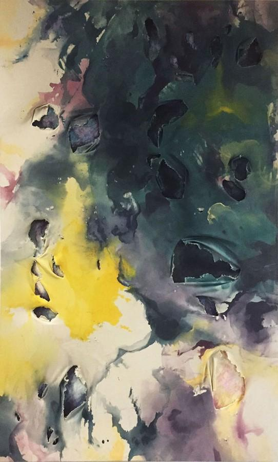 Nadean Marron's abstract painting will be showcased during the 59th Annual Juried Art Show.