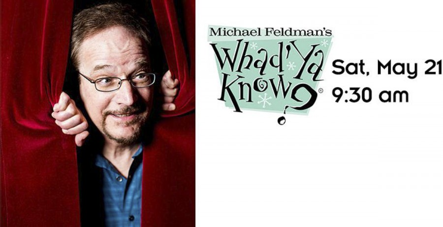 """Wisconsin Public Radio's Michael Feldman will broadcast his live radio show """"Whad'Ya Know?"""" at Eau Claire's State Theatre in May."""