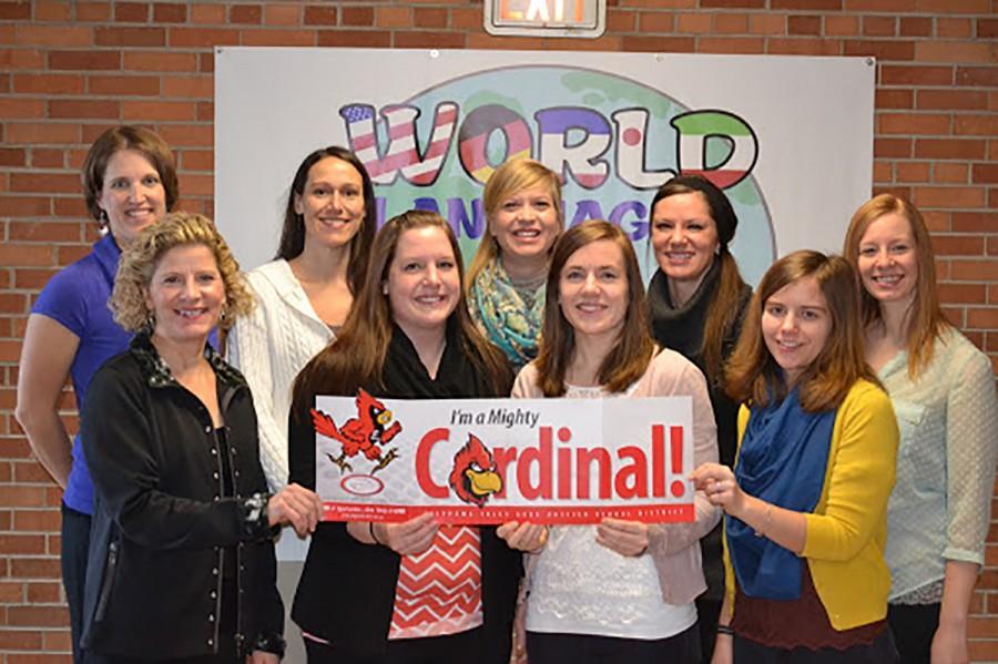 Bottom left row: Jeannine Geiger, Brianna Hemauer, Katy Wolner, Emily Lamusga  Top left: Kris Kolinski, Angie Oplinger, Rachel Arendt, Lisa Zondlo, Michele Nuttelman