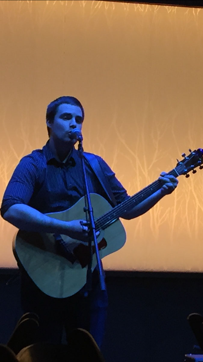 Ben Vanden Boogaard performs a collection of self-written songs at the Cabin at 8 p.m. Saturday night.