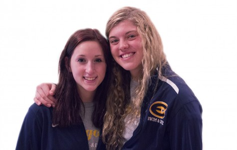 Blugold swimmers Jessica Short and Sam Senczyszyn, friends since elementary school, are two of the 11 competitors being sent to the national meet.
