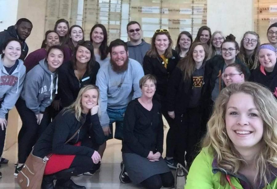 Matt Passineau and multiple other students and faculty as part of the Selma and UW-Eau Claire exchange program explored the deep south over spring break.