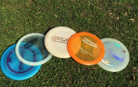 Alex Hoovers' collection of discs