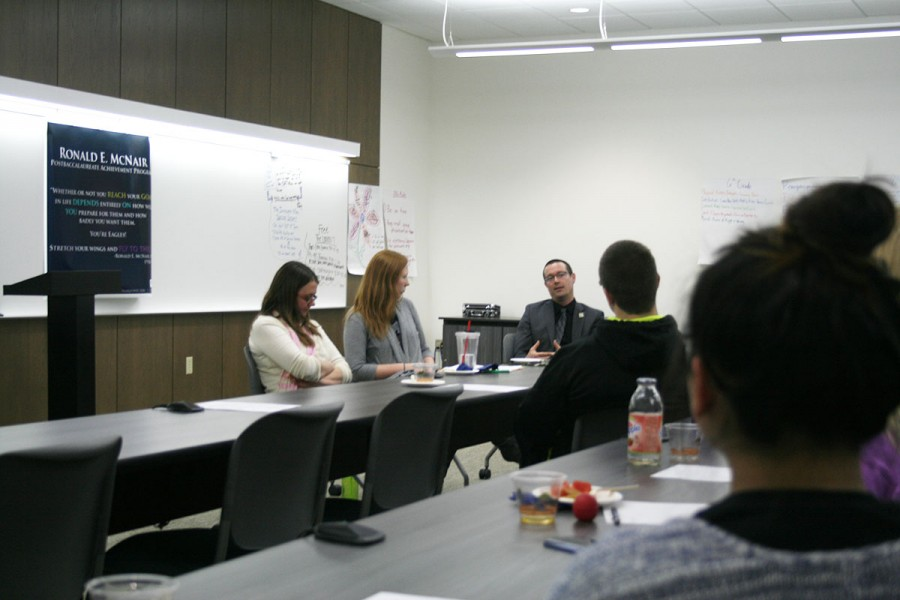 McNair alumni panel discussion held in Centennial. Alumnis' shared their stories and life experiences with the help of the program to faculty and students.