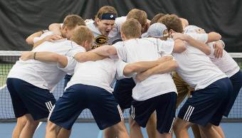 Men's tennis finishes season strongly