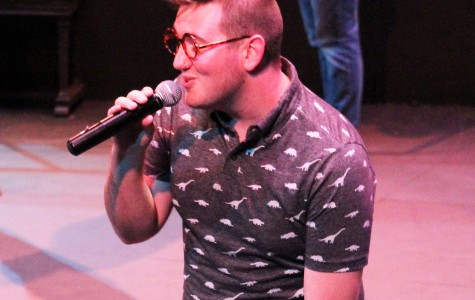 Fifth Element member, Will Johnston, shares his love of a cappella music at the group's opening night of their first self-written musical Fifth Element: The Musical