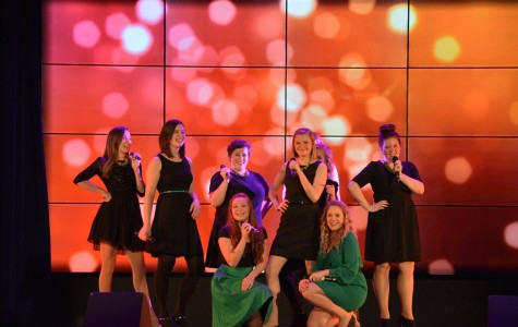 Acca-Audacious: The members of UW-Eau Claire a cappella group, Audacious, sang their hearts out at their 2015 Winter Concert
