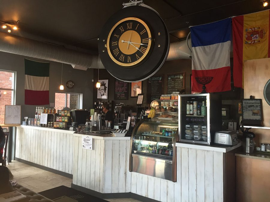 An inside look at the original Caffe Tempo on E. Madison Street.