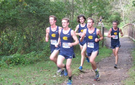 UW-Eau Claire's Cross Country team gets ready for competition