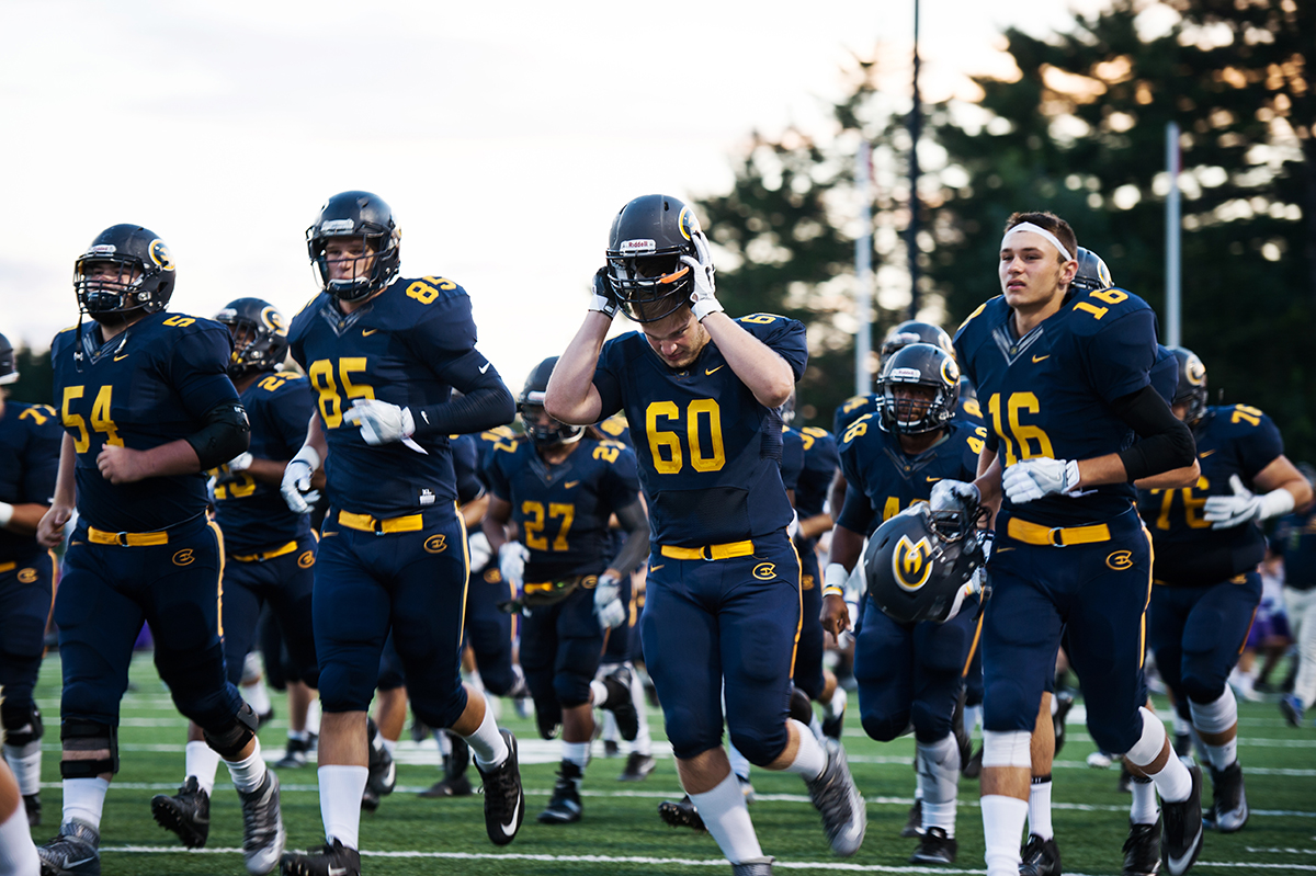Blugolds show signs of life in the fourth quarter, but come up short in week two against Concordia-Moorhead.