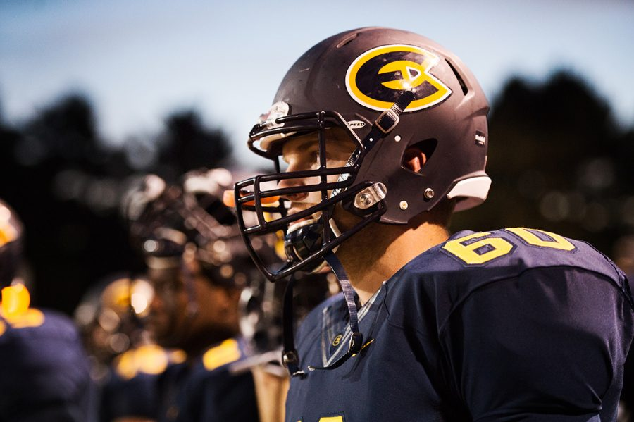 The Blugolds did not have an answer for the high powered Warhawk offense.