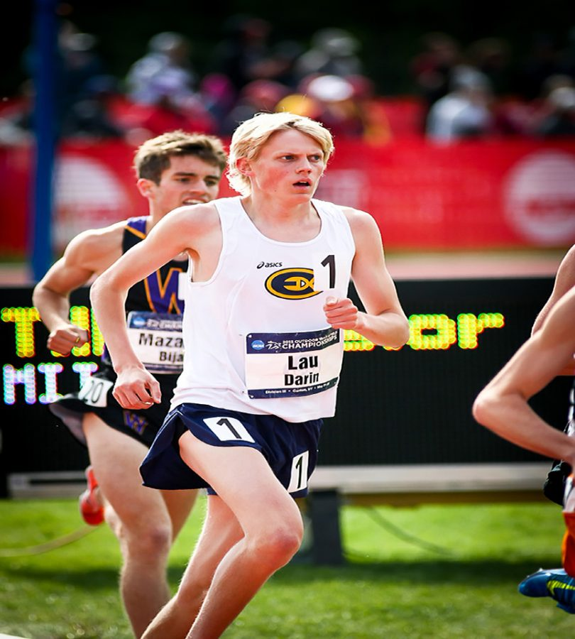 Eau Claire native Darin Lau runs for the UW-Eau Claire track and cross country teams. He has won three All-American titles and been on the national champion teams for both groups.