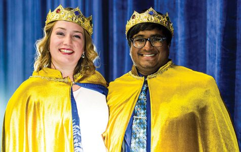 Ellie Davis and Curtis Guhl were crowned homecoming royalty on Friday.