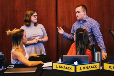 Student Senate added members to a variety of commissions.