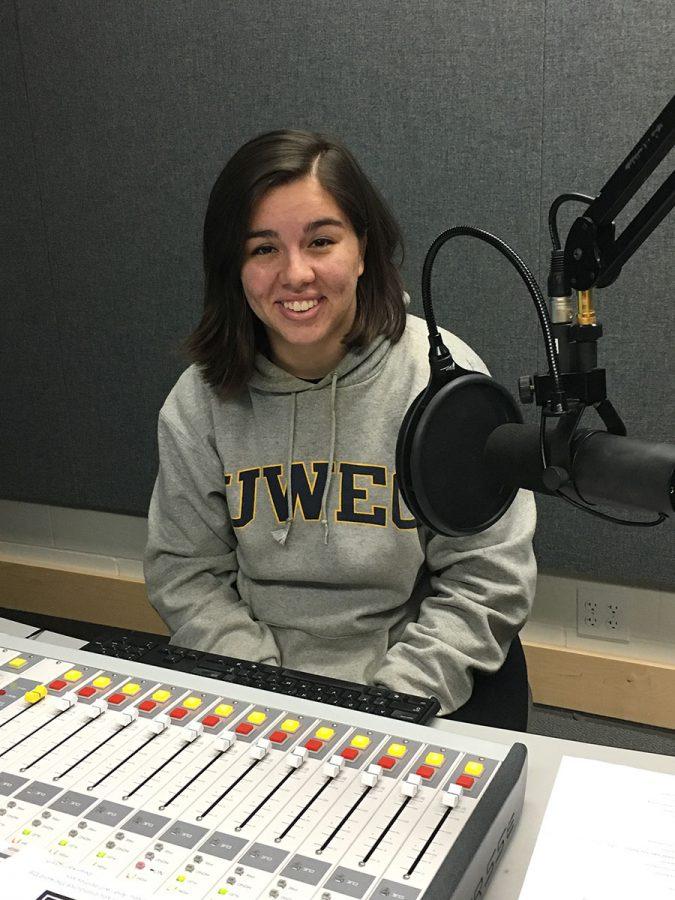 Kiri Salinas, a journalism student, is co-hosting Blugold Radios newest show Bridge Talks.