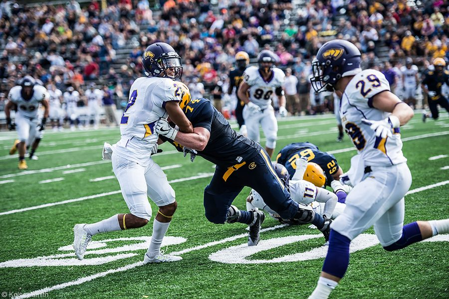 Eau Claire's mid game comeback effort was not enough to stop a resilient Stevens Point offense.