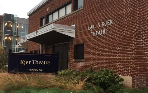 Students have reported seeing the ghost of Earl Kjer in the Kjer Theater on campus.
