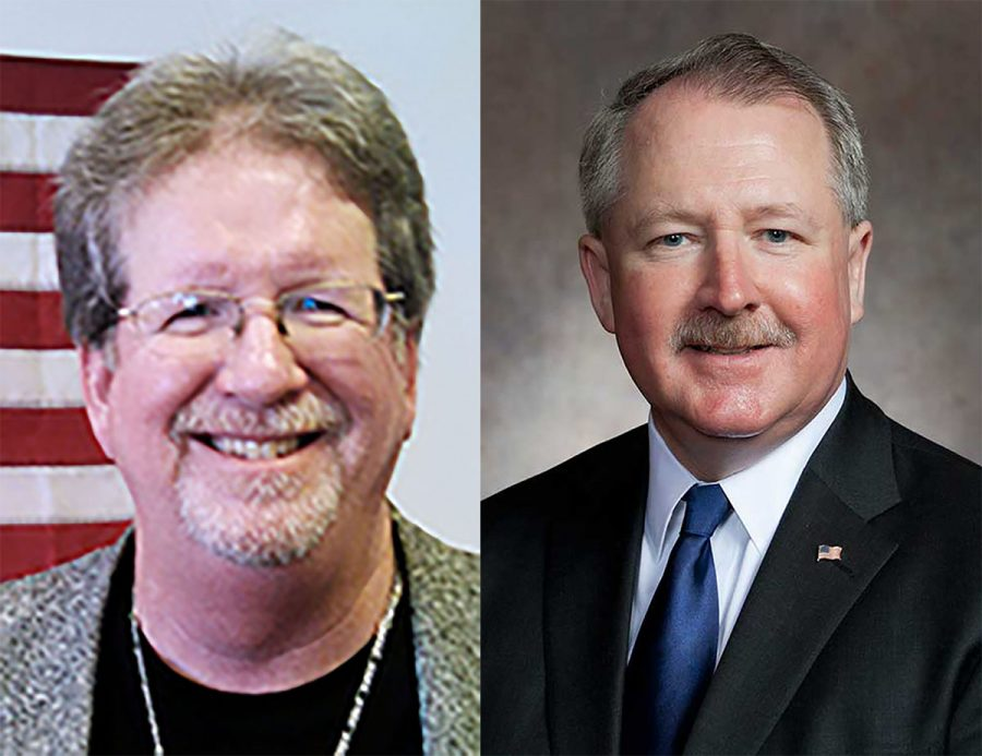 Left: Bill Ingram, R-Durand, is running for 91st Assembly District and worked for UW-Eau Claire police for 17 years, while also filling the role of sergeant. He's running against incumbant Rep. Dana Wachs, D-Eau Claire, who has been representing the 91st Assembly District since he was elected in 2012. Wash is also a practicing trial lawyer.