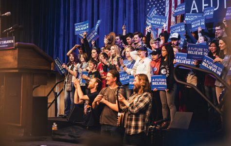 Bernie supporters take the leap from 'Feel the Bern' to 'I'm With Her'
