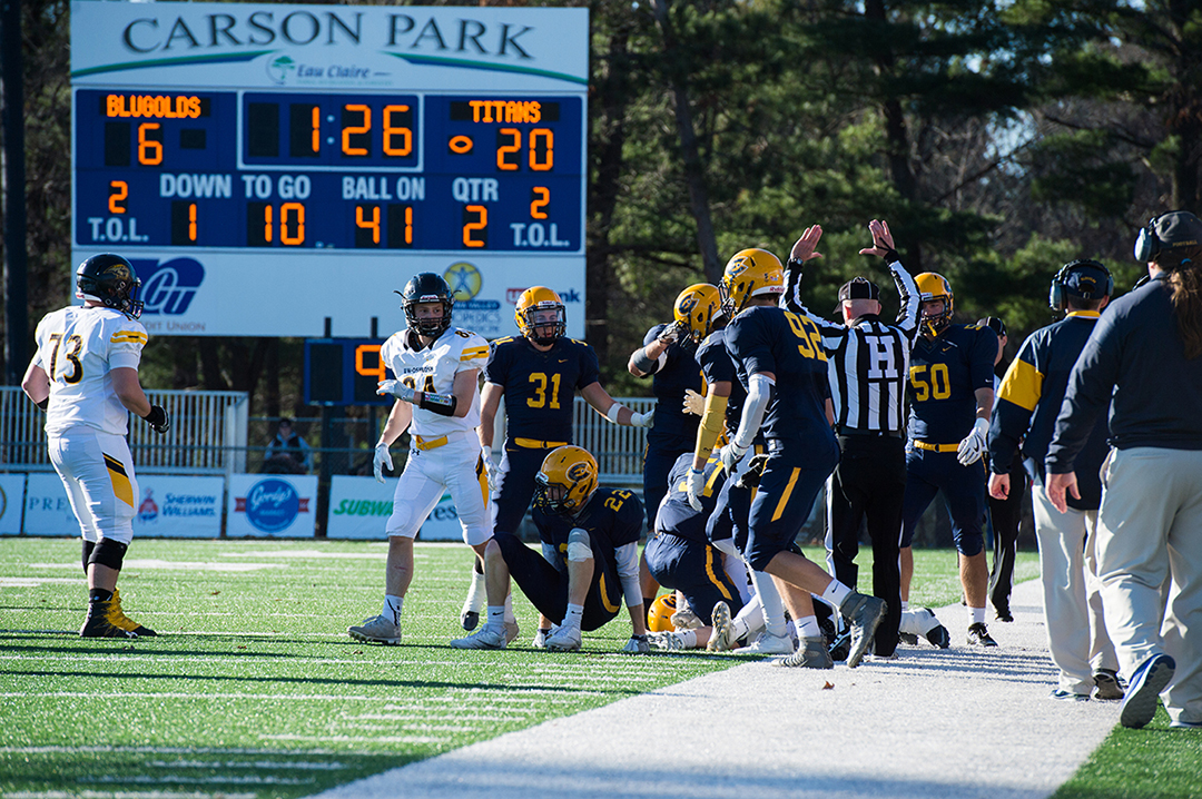The Blugolds finished the 2016 campaign with two more wins than their previous season.