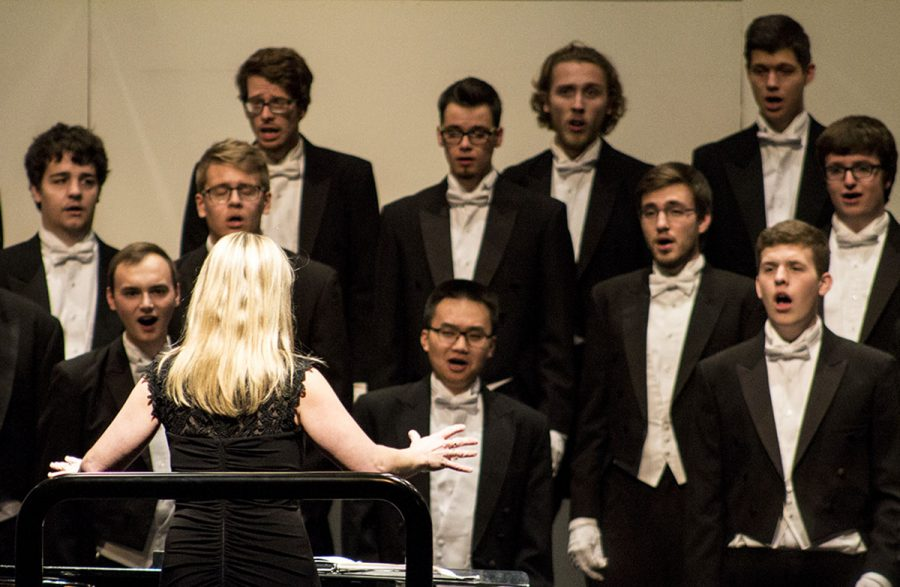 The 2016 Choral Showcase contained a plethora of choirs performing songs that portrayed their unique styles. The Singing Statesmen conducted by Elizabeth Joosten performed all the pieces they had been working on since the start of the semester.