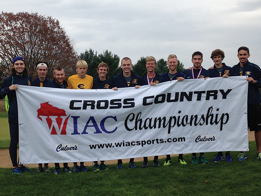 The+Cross+Country+teams+competed+at+conference+this+past+weekend+in+Stevens+Point.+The+men+won+and+the+women+came+in+third+place%2C+barely+beating+UW-Oshkosh.