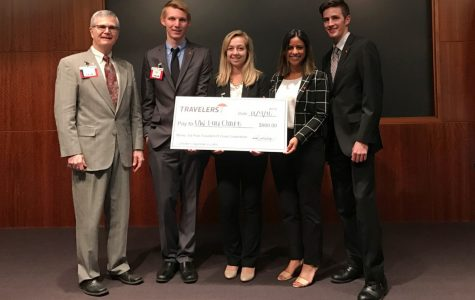 UW-Eau Claire takes first at the IT Case Competition