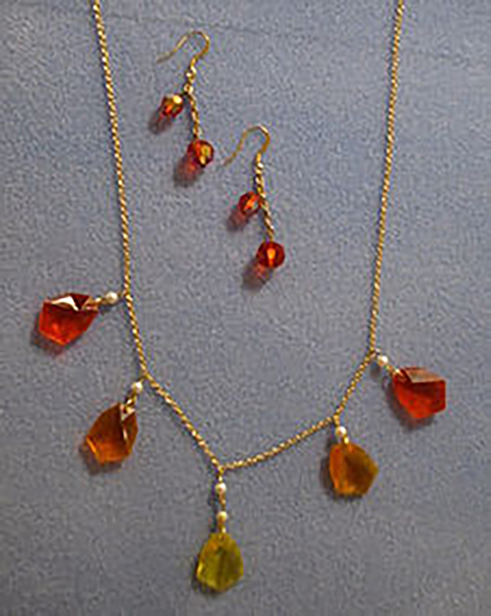 The Modern Light exhibit showcases handmade jewelry for sale from artists around the world.