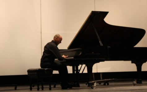 Paul Barnes performed on Sunday as part of his New Generations tour. He also teaches prospective pianists at the University of Nebraska-Lincoln.