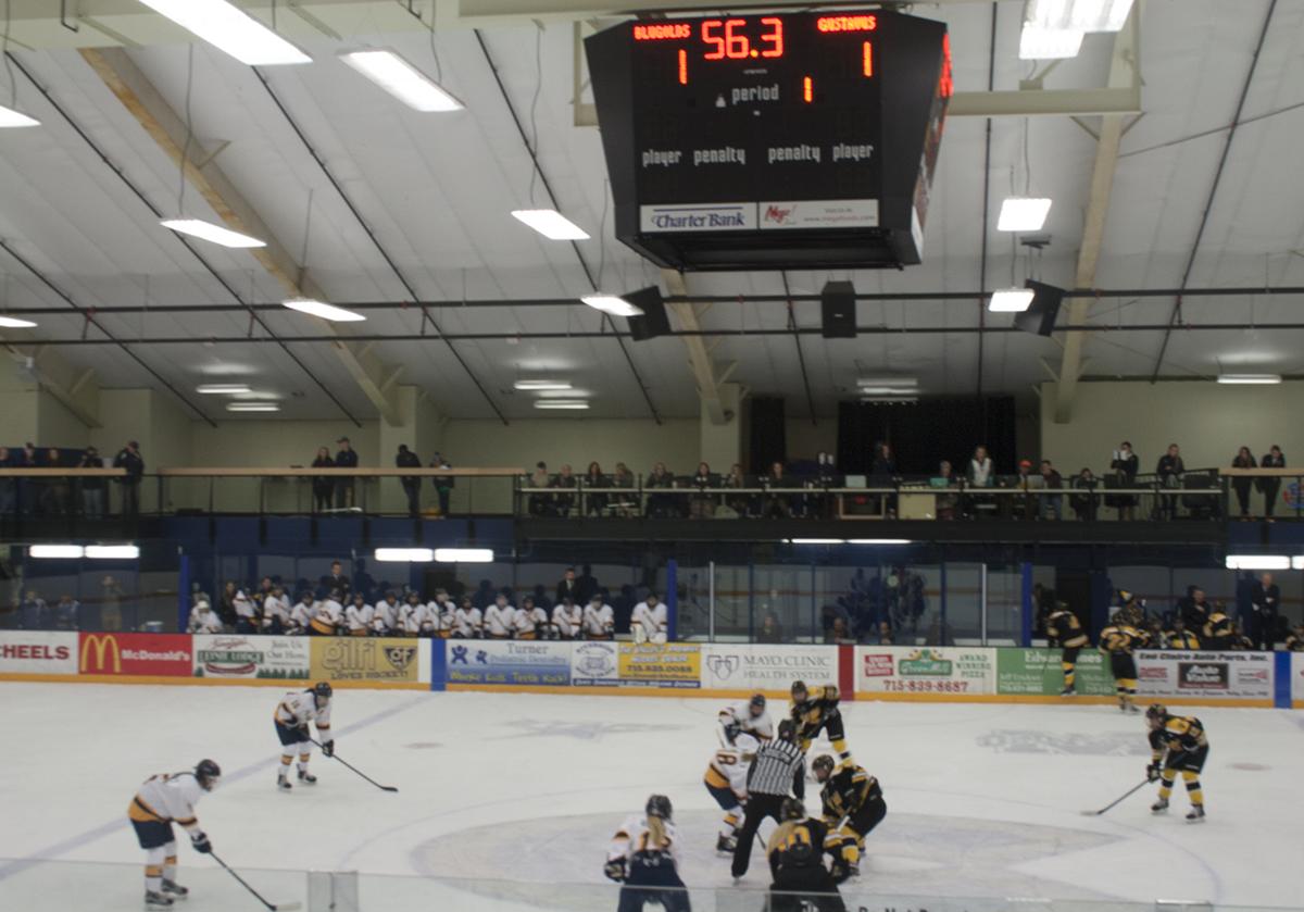 The Women's Hockey team won three of their three previous games, but fell to Hamline University (Minn.) on Friday and Gustavus Adolphus (Minn.) on Saturday.