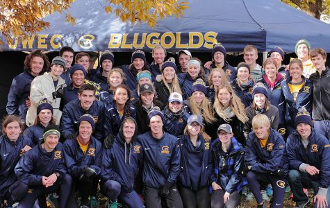 Blugold cross country team places third