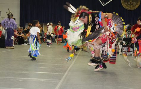 Song, dance and celebration bridged cultures at Saturday's powwow, a major event during Native American Heritage Month