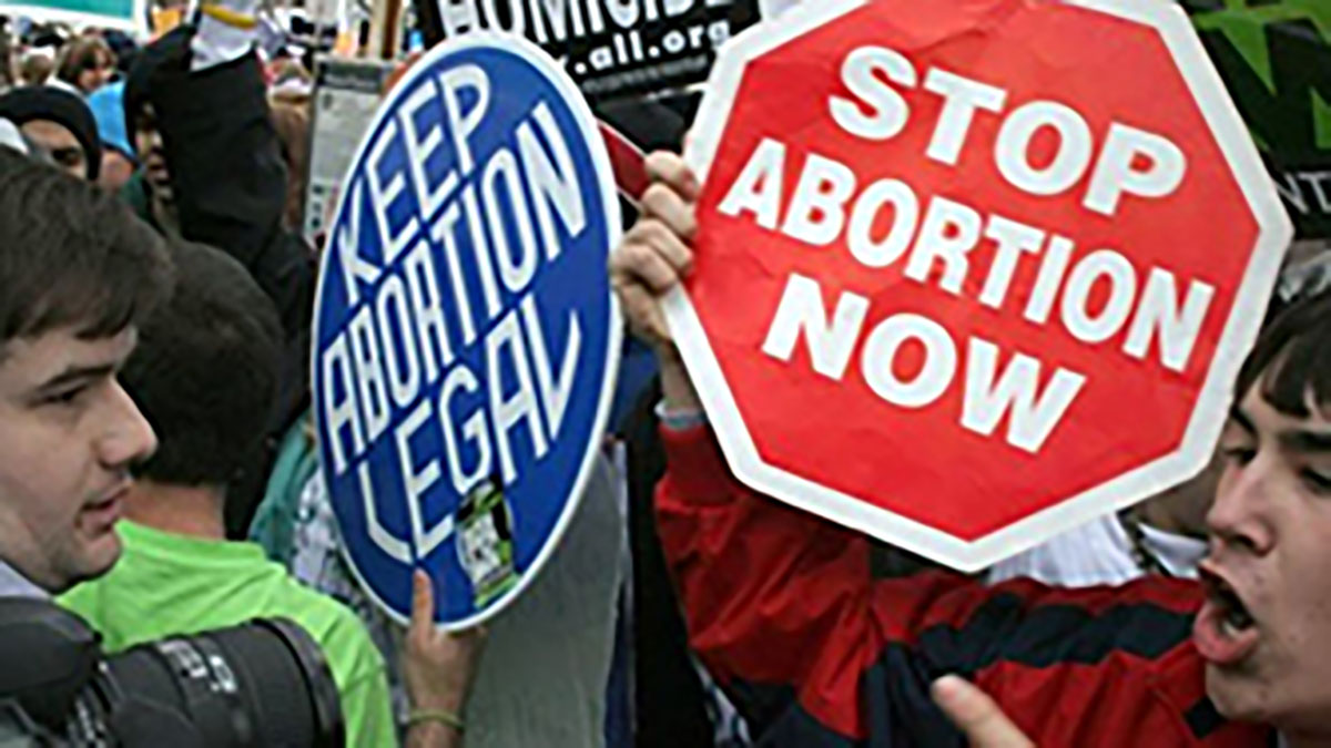 For years, protests have erupted all over the country between groups who are pro-life and pro-choice.