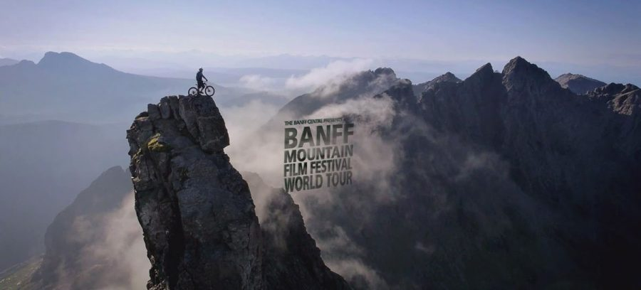 The Banff Mountain Film Festival played on the big-screen in Woodland Theater from Sunday-Tuesday night.