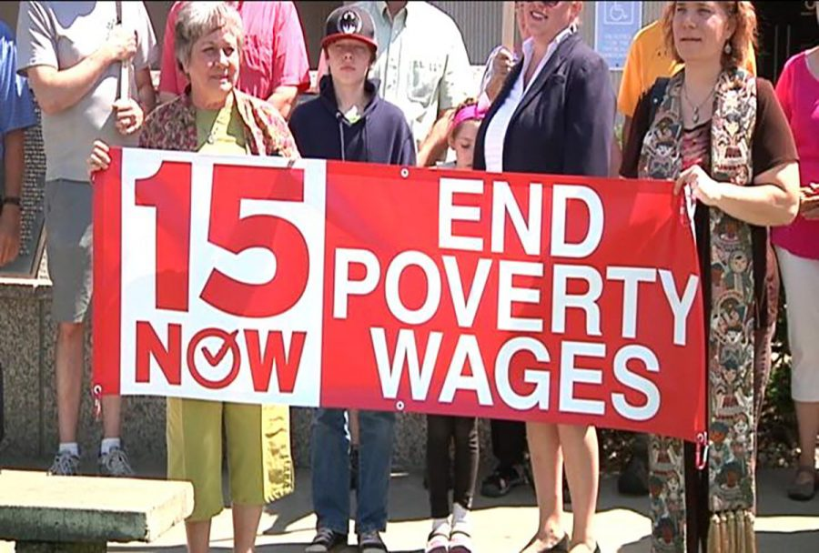 Recent rallies in Eau Claire stir support for an increased minimum wage ordinance.