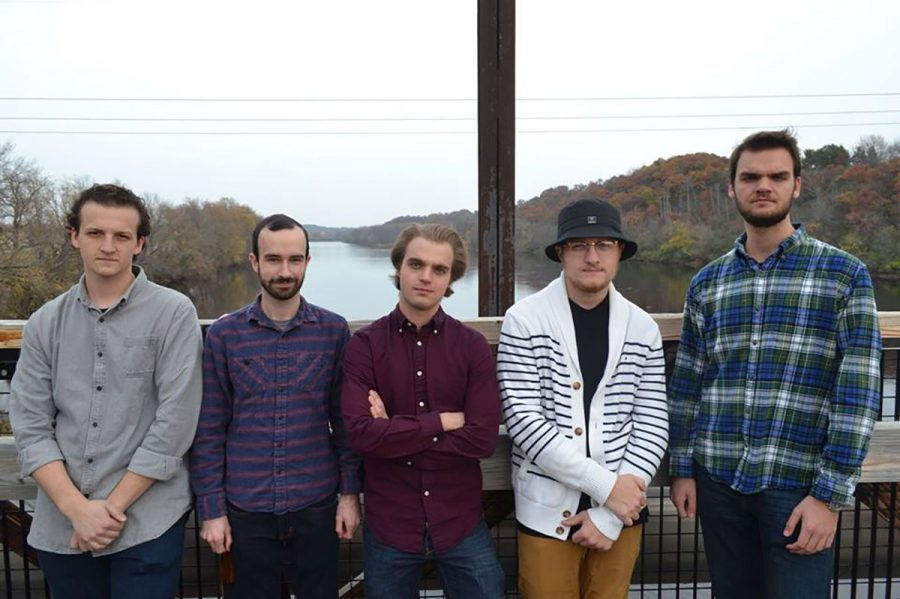 Boats and Bridges is one of the many bands Colburn has been part of throughout the years. They currently perform around Eau Claire and are looking to record their first album in January. (submitted)