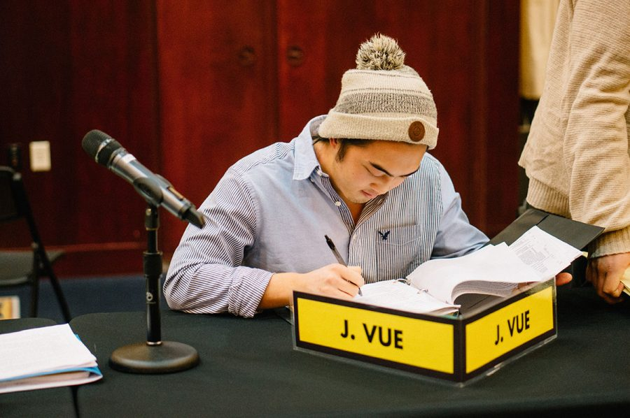 Senator Justin Vue submitted the resolution, which was co-authored by Marketing Coordinator Amanda Thao.