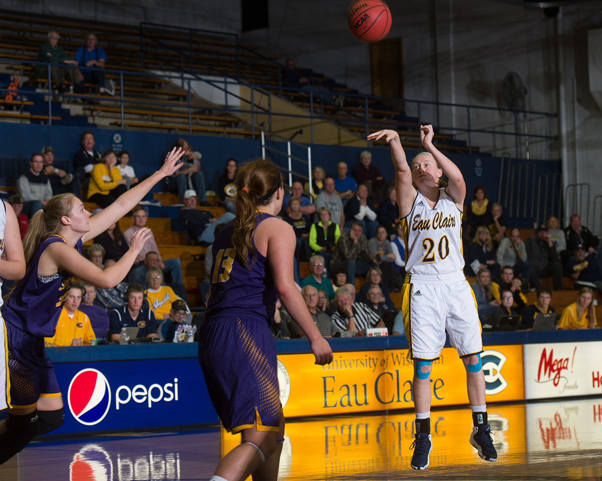 UW-Eau Claire women's basketball is taking some time off to prepare for the upcoming competition.