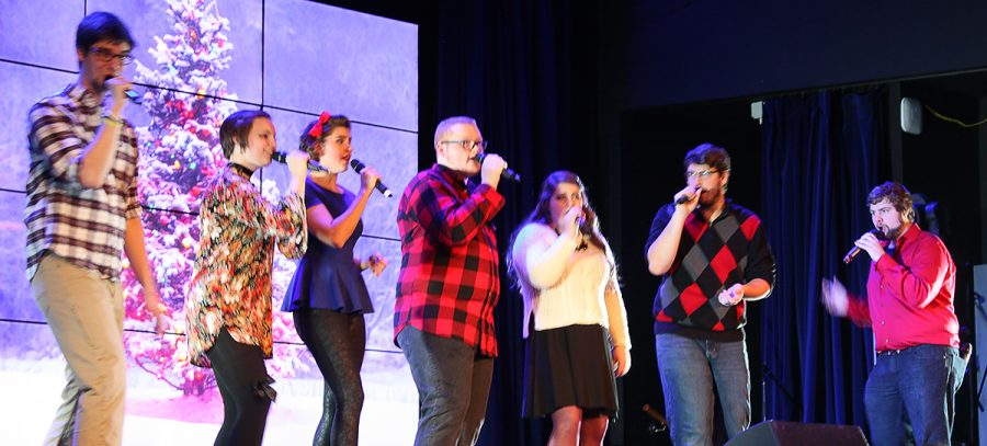 Impromptu performs in their winter concert