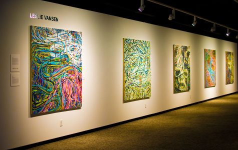 Foster Art Gallery hosts 'Surfacing' exhibition
