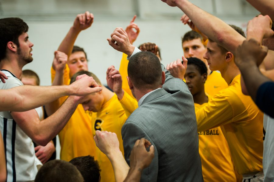 The men's basketball team has eight more games left in the regular conference season. They're hoping to make it to the conference tournament and even to the NCAA tournament.
